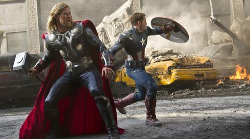 """""""Los vengadores"""", a un paso de ser el filme más visto en la historia de América Latina"""
