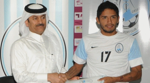 Reimond Manco fue presentado como nuevo jugador del Al Wakrah de Qatar