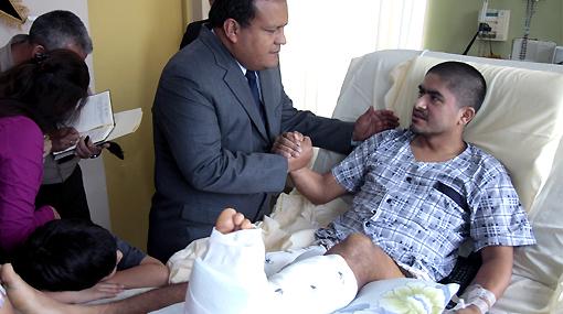 Son tres los soldados heridos en la Operación Libertad que serán tratados en EE.UU.