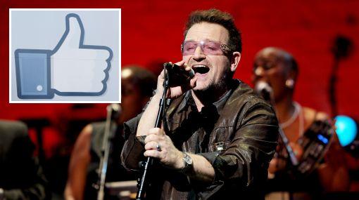 Facebook convertirá a Bono en el músico más rico del mundo