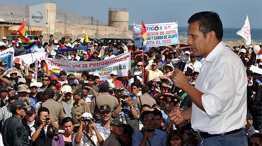 """Ollanta Humala aseguró que cambios en las FF.AA. eran """"necesarios"""""""