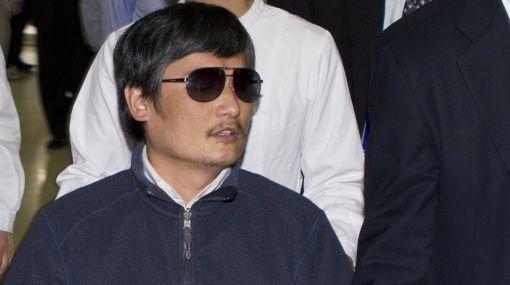 Disidente chino Chen Guangcheng parte hacia Estados Unidos