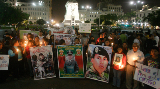 Familiares de militares y policías muertos en acción tendrán reparación económica