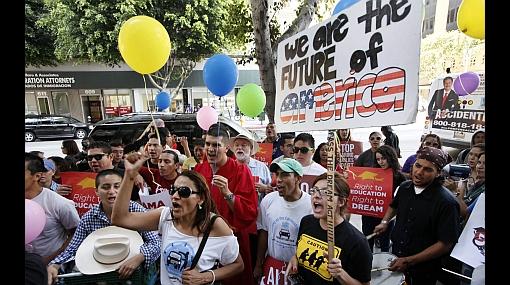Indocumentados en EE.UU. toman las calles y luchan por sus derechos