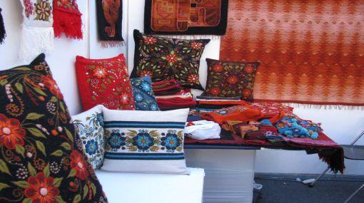 Disminuyen la exportaciones de artesanía peruana