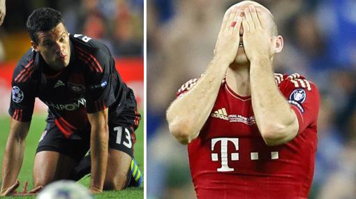 Robben iguala a Ballack en número de finales perdidas