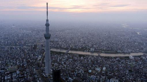 """""""Árbol del Cielo"""" es la torre de TV más alta del mundo y está en Tokio"""