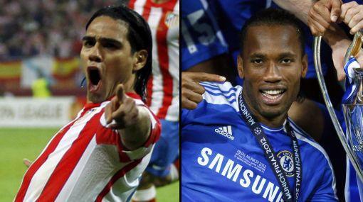 Radamel Falcao reemplazaría a Didier Drogba en el Chelsea