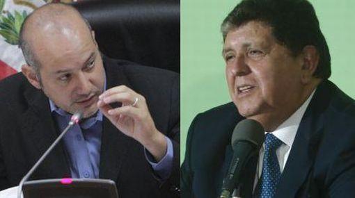 Megacomisión pedirá levantamiento del secreto bancario de Alan García