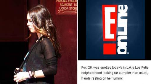 Megan Fox ya es mamá de un niño y se llama Noah Shannon Green