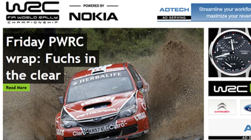 Nicolas Fuchs va líder en sexta fecha del Mundial de Rally