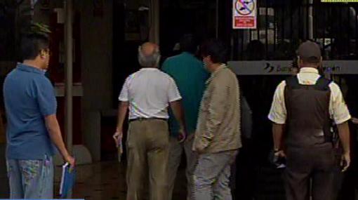 Fonavistas iniciaron su inscripción en el Banco de la Nación
