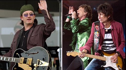 ¿Qué grupo de rock debería venir a cantar a Lima? ¿U2 o los Rolling Stones?