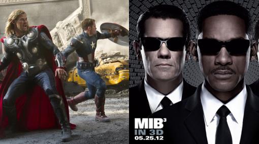 """""""Hombres de negro 3"""" desplazó a """"Los Vengadores"""" en taquilla de EE.UU."""