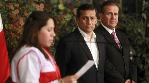 Presidente Humala rindió minuto de silencio por muertos en Espinar