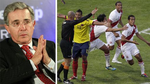 Ex presidente colombiano Álvaro Uribe hizo una jugosa apuesta para el Perú-Colombia