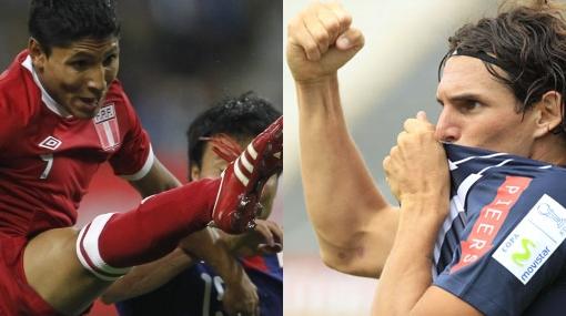 ¿Ruidíaz o Fernández, quién debe jugar en lugar del lesionado Claudio Pizarro?