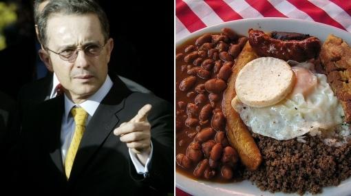 Cómo se prepara la bandeja paisa, plato que apostó Álvaro Uribe para el Perú-Colombia