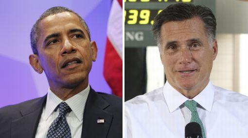 Obama felicitó a Mitt Romney, su rival en elecciones presidenciales