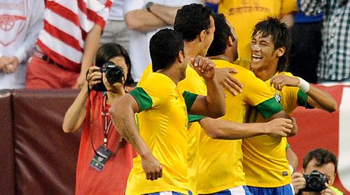 Brasil venció 4-1 a Estados Unidos en partido amistoso