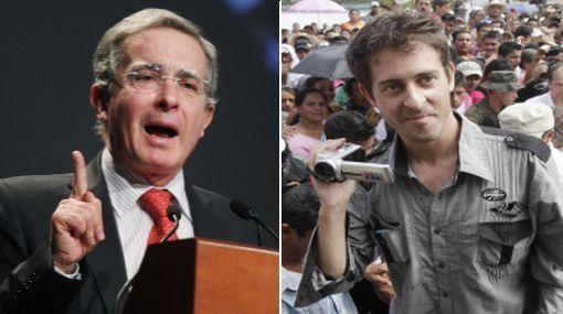 Uribe acusó a periodista francés de mentir sobre secuestro de las FARC