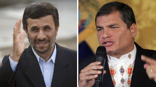Ahmanidejad invitó a Rafael Correa a Irán en agosto próximo