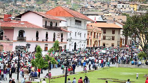 Cajamarca: desafían estado de emergencia y anuncian paro de 48 horas
