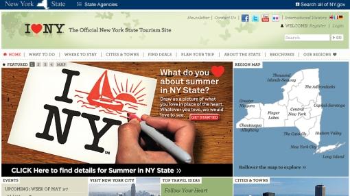 """¿Adiós al """"I love NY""""? Nueva York lanzó campaña para renovar su logo"""