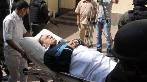 Ex presidente egipcio Hosni Mubarak corre el riesgo de sufrir una embolia