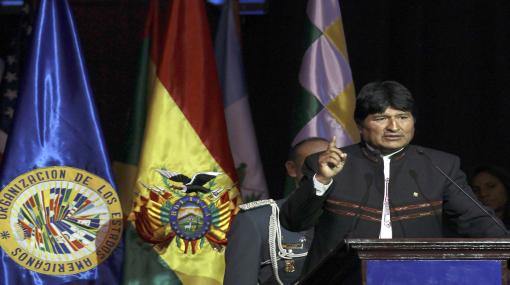 Evo Morales plantea que la CIDH desaparezca si no va a vigilar a EE.UU.