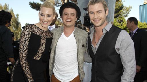 """""""Los juegos del hambre"""" se da un banquete en los MTV Movie Awards"""