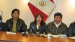 Espinar: autoridades no dialogarán con el Gobierno hasta liberación de alcalde - Noticias de oscar mollohuanca cruz