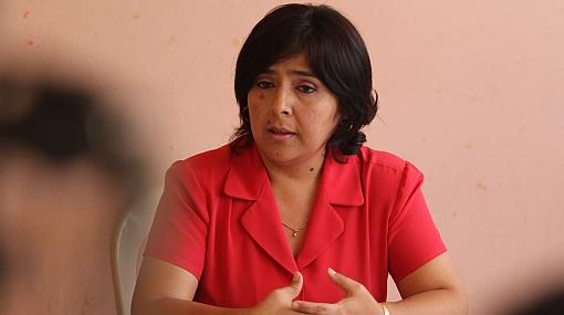 """Ministra de la Mujer sobre renuncias: """"Sí estamos cumpliendo hoja de ruta"""""""
