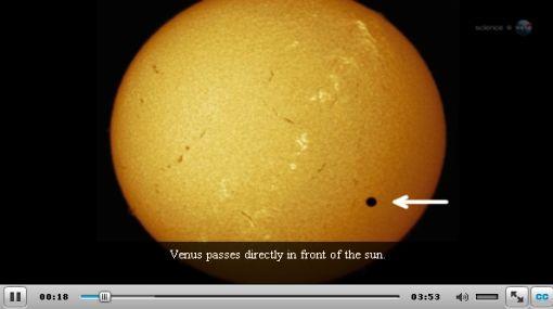 El tránsito de Venus fue seguido desde lugares realmente privilegiados