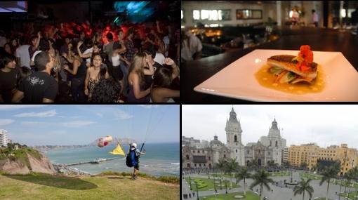 Lima es una de las mejores ciudades del mundo para turistas hombres