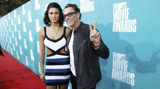 Jean-Claude Van Damme presentó a su guapa hija