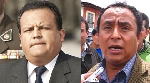 """Ministro de Defensa José Urquizo: """"Gregorio Santos se ha desenmascarado"""""""