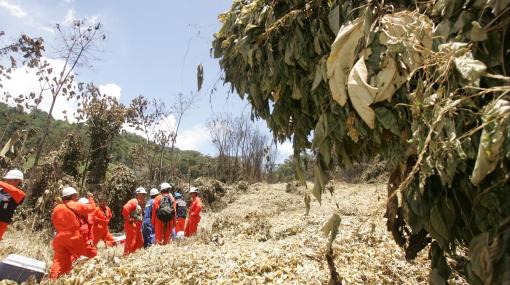 Sendero Luminoso retuvo a trabajadores de TGP cerca de Kepashiato