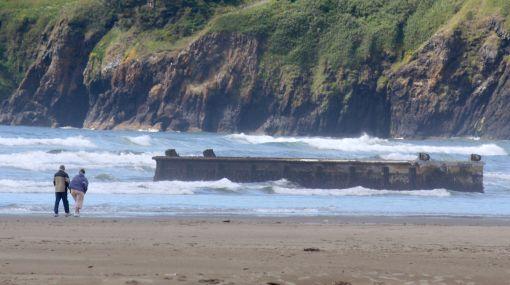 Muelle japonés 'navegó' hasta Estados Unidos tras el tsunami del 2011
