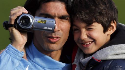 'Loco' Abreu perdió la cámara con la que grabó el Mundial y la Copa América