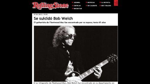 Ex guitarrista de Fleetwood Mac se suicidó en su vivienda de Nashville