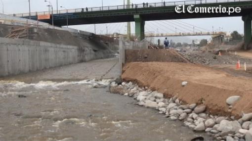 El primer tramo del túnel que pasará bajo el río Rímac estará listo a fin de año