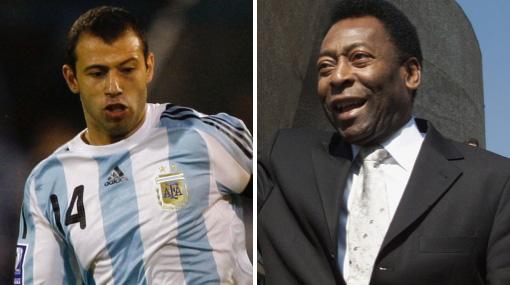 """Comentario de Pelé sobre Messi """"es ridículo"""", dijo Javier Mascherano"""