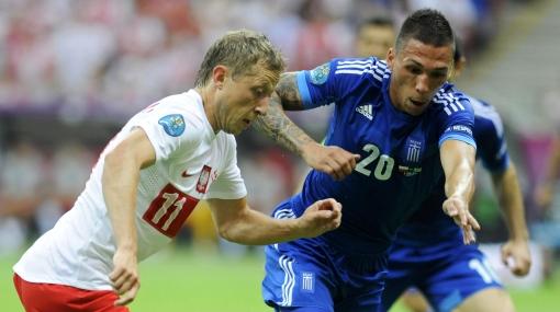 Euro 2012: Polonia y Grecia empataron 1-1 en emocionante partido inaugural