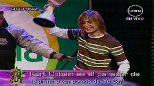 """'Kurt Cobain peruano' fue el gran triunfador del concurso """"Yo soy"""""""