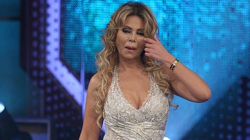 "Gisela Valcárcel lloró en ""Operación triunfo"" al recordar a su padre"
