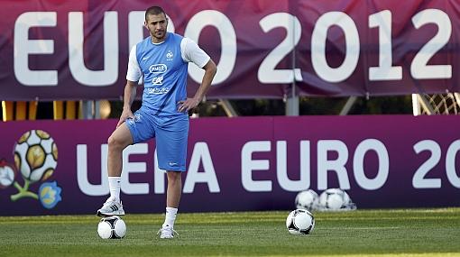 Eurocopa 2012: Benzema afirmó que no le teme a la selección de Inglaterra