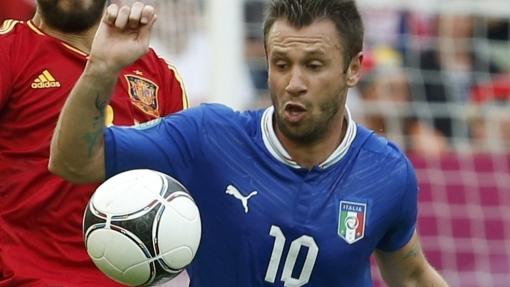 """Antonio Cassano espera que """"no haya homosexuales"""" en la selección italiana"""