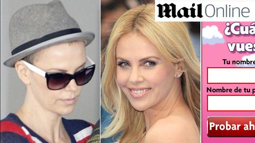 Charlize Theron reapareció con radical cambio de look