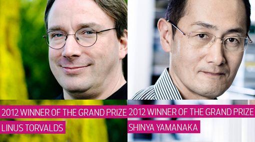 Creador de Linux y médico japonés comparten el 'Nobel' de tecnología